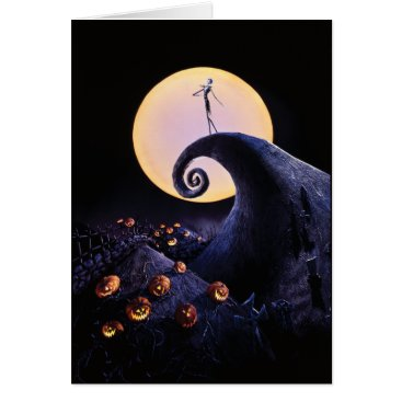 Disney Themed The Nightmare Before Christmas Card