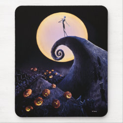 Mousepad with Disney Christmas Ornaments design