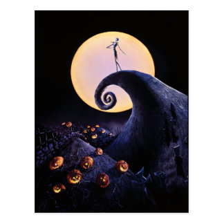 The Nightmare Before Christmas Postcard