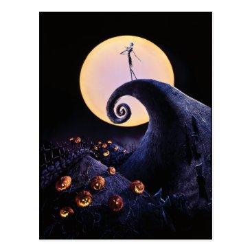 Disney Themed The Nightmare Before Christmas Postcard