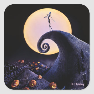 The Nightmare Before Christmas Square Sticker