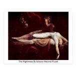 The Nightmare By Johann Heinrich Fuseli Postcards