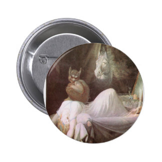 The Nightmare: Henry Fuseli; 18th c. 2 Inch Round Button