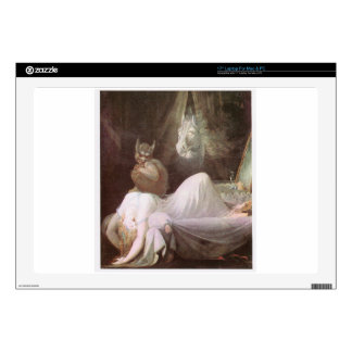 """The Nightmare: Henry Fuseli; 18th c. Decal For 17"""" Laptop"""