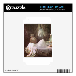 The Nightmare: Henry Fuseli; 18th c. iPod Touch 4G Skin
