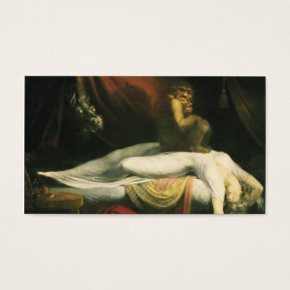 The Nightmare, Henry Fuseli Business Card