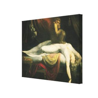 The Nightmare, Henry Fuseli Canvas Print