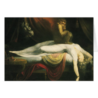 The Nightmare, Henry Fuseli Card