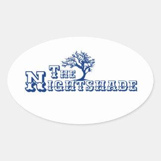 The Nightshade Logo Sticker