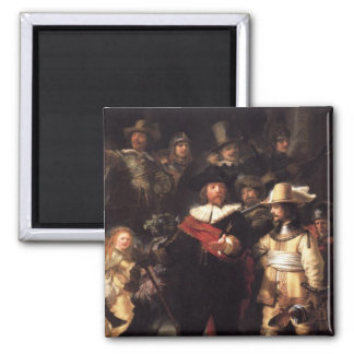 The Nightwatch 2 Inch Square Magnet