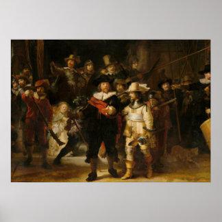 The Nightwatch by Rembrandt van Rijn Poster