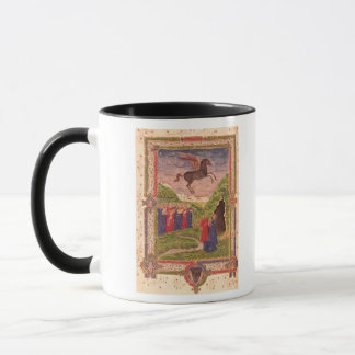 The nine Muses playing instruments Mug