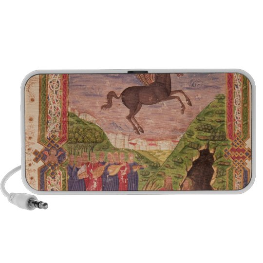 The nine Muses playing instruments Portable Speaker