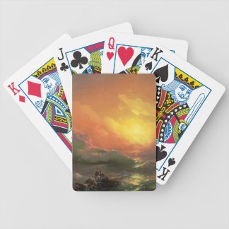 The Nineth Wave Bicycle Playing Cards