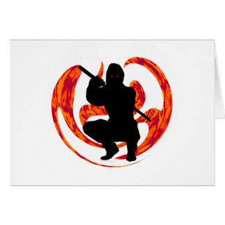 THE NINJA DRAGON CARD