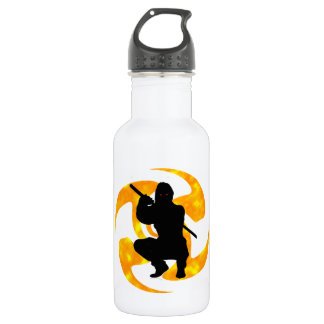 THE NINJAS MOMENT STAINLESS STEEL WATER BOTTLE