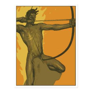 The Ninth Arrow by Fritz Erler Postcard