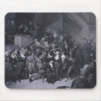 The Ninth Thermidor, c.1840 Mouse Pad