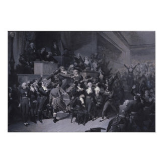The Ninth Thermidor, c.1840 Poster