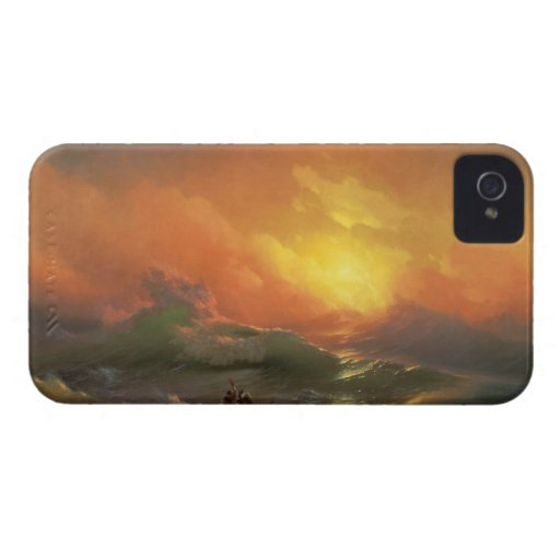 The ninth wave Ivan Aivasovsky seascape waterscape iPhone 4 Cover