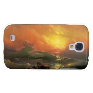 The ninth wave Ivan Aivasovsky seascape waterscape Samsung Galaxy S4 Cover