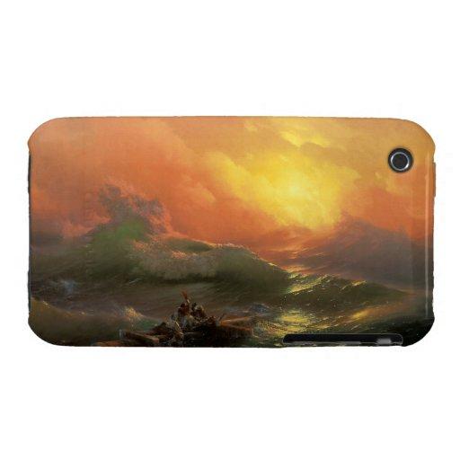 The ninth wave Ivan Aivasovsky seascape waterscape iPhone 3 Case-Mate Case