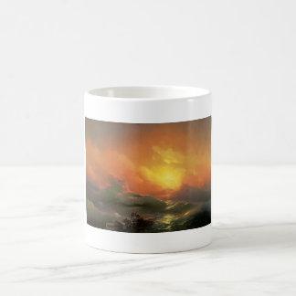 The ninth wave Ivan Aivasovsky seascape waterscape Coffee Mug