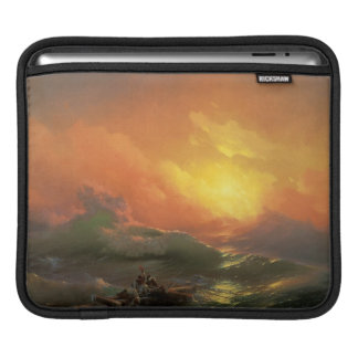 The ninth wave Ivan Aivasovsky seascape waterscape Sleeves For iPads