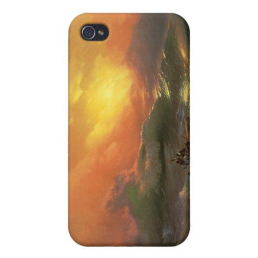 The ninth wave Ivan Aivasovsky seascape waterscape iPhone 4/4S Case