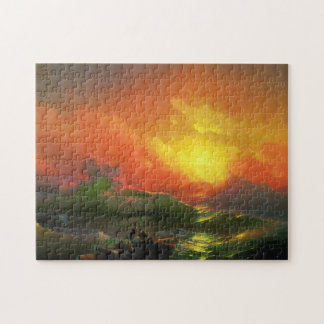 The Ninth Wave Jigsaw Puzzle