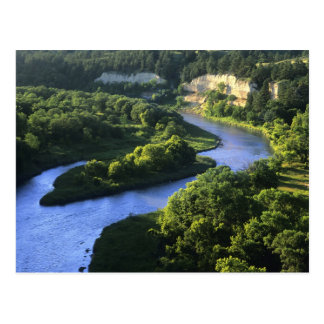The Niobrara River near Valentine Nebraska Postcard