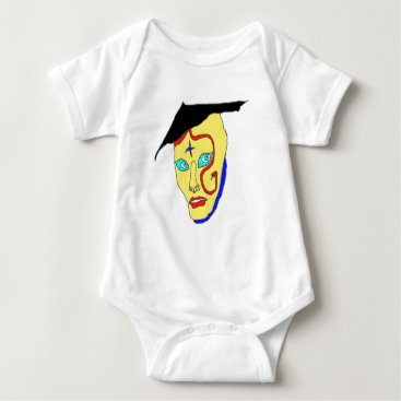 USA Themed The NIPPON1.png MASK Baby Bodysuit