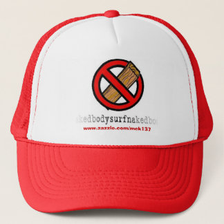 The No Board hat from BSN Bodysurfing Apparel