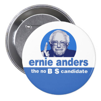The no BS  candidate Button