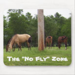 """The """"No Fly"""" Zone Mousepad"""
