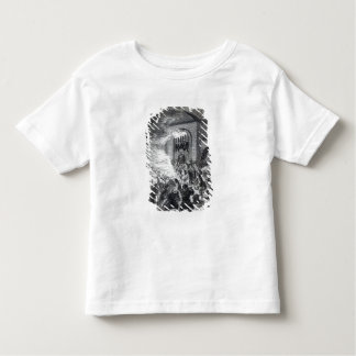 The 'No Popery' rioters burning the prison Toddler T-shirt