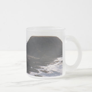 The Nobbies Frosted Glass Coffee Mug