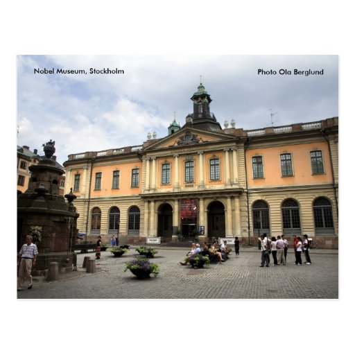 The Nobel Museum, Stockholm, Photo O... Post Cards