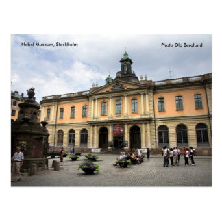 The Nobel Museum, Stockholm, Photo O... Postcard