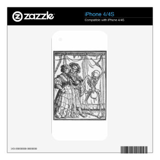 The Noble Lady by Hans Holbein the Younger Decal For The iPhone 4