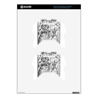 The Noble Lady by Hans Holbein the Younger Xbox 360 Controller Skin
