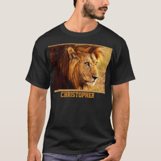 The Noble Lion Photograph T-Shirt