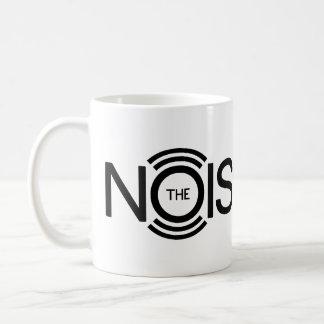 The NoiseMug Classic White Coffee Mug