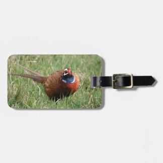 The Noisy Pheasant Bag Tag