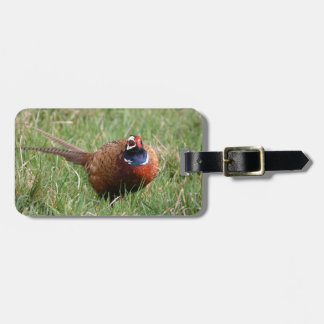 The Noisy Pheasant Tag For Luggage