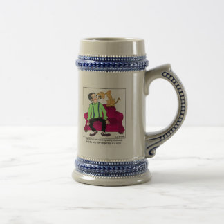 The Non-Cat Person 18 Oz Beer Stein