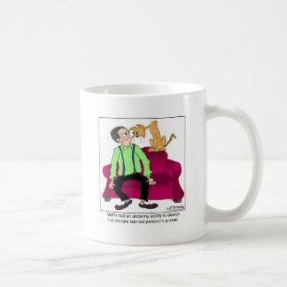 The Non-Cat Person Classic White Coffee Mug