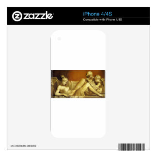 The Noon by Pierre-Paul Prud'hon Decals For The iPhone 4S