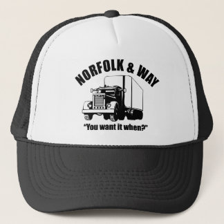 The Norfolk and Way Trucking Cap