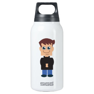 The Norm: Boy Norm Chibi Insulated Water Bottle